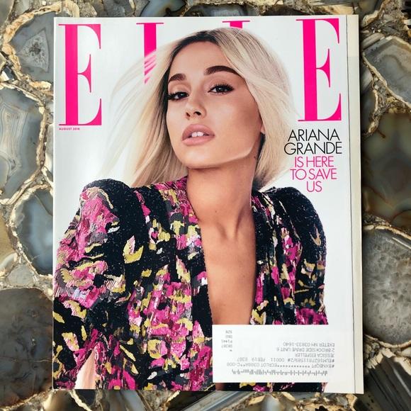 4️⃣/$12 August 2018 Elle Magazine